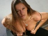 Halana K, striptease under the sun!